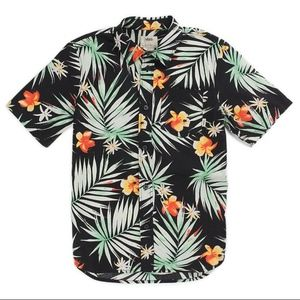 a6bd183fd6 Vans Shirts - VANS Daintree Hawaiian Palm Button-down Shirt XL